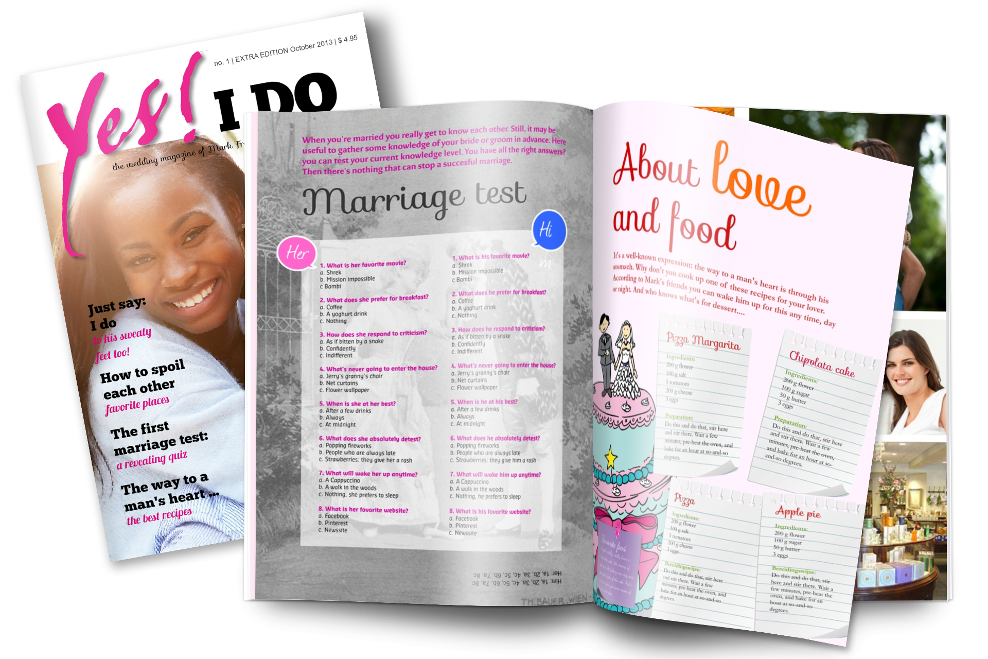 wedding gift idea wedding invitation magazine make your own magazine