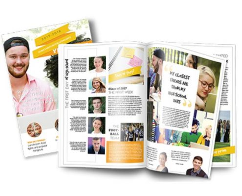 40 Ideas and topics for a school magazine
