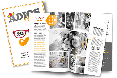 How to make a magazine for a school project: online magazine