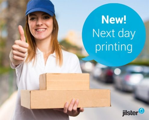 new next business day printing personalised magazine or book