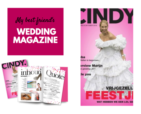 my best friends wedding magazine cindy