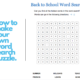 how to make your own word search puzzle