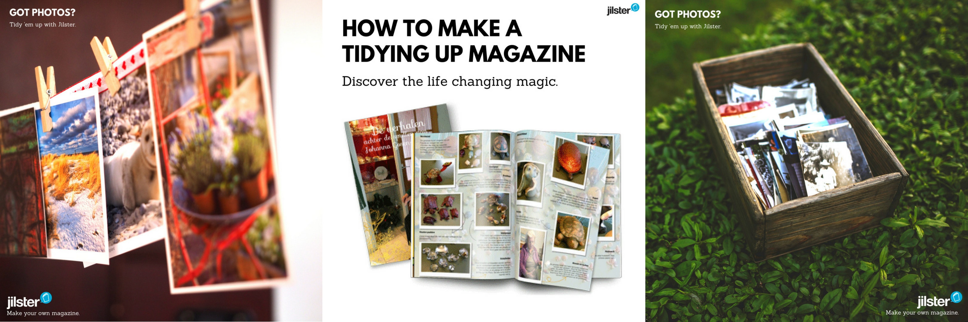 instagram tidy up magazine