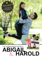 magazine cover wedding
