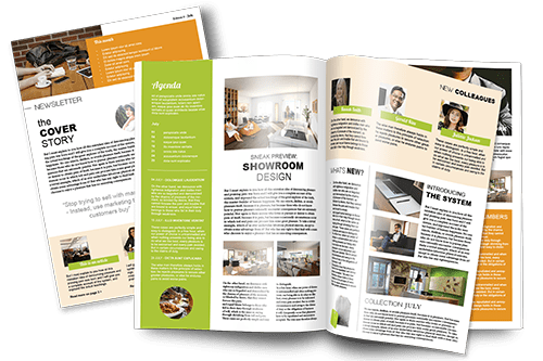 create a magazine for business personalised magazine jilster