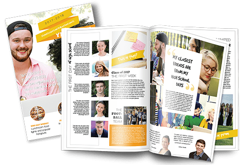 how to make a magazine for a school project  online