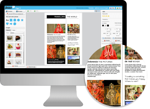 Create Your Own Magazine Template Free Magazine Template Editor - Online magazine template
