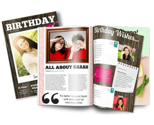 time capsule birthday present gift idea magazine