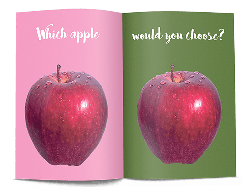 how to create personalised adverts make your own magazine 1 apple example