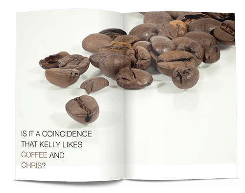 how to create personalised adverts make your own magazine 1 coffee example
