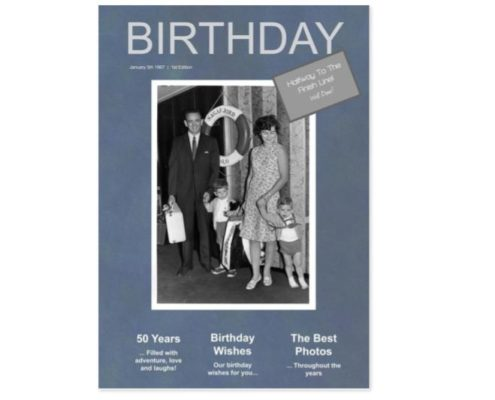 birthday 50 gift magazine jilster