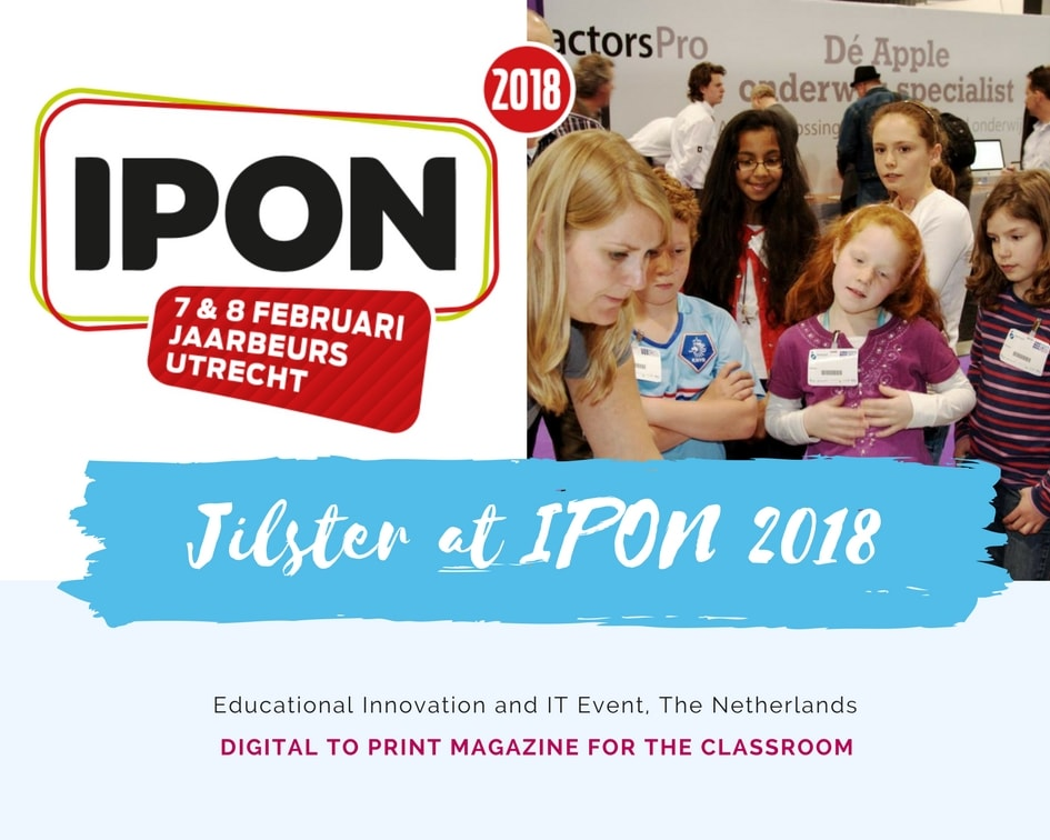 jilster make your own magazine at IPON 2018