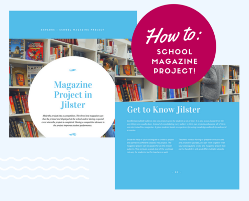 How to combine multiple subjects into one project magazine for school jilster