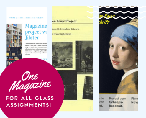 one magazine project for all class assignments school magazine jilster