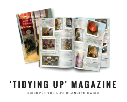 life changing magic tidying up magazine jilster