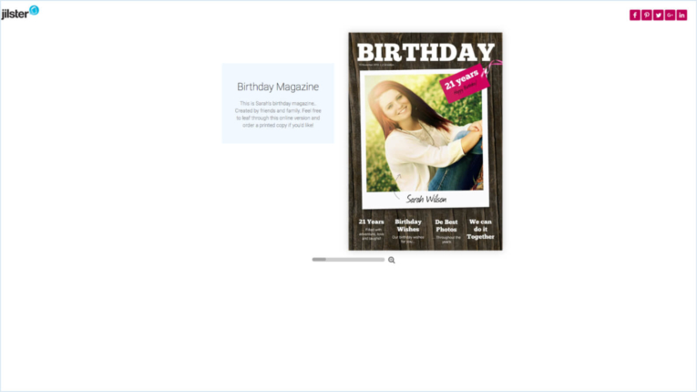 Jilster Guide and FAQ 1.9.6 Share online magazine